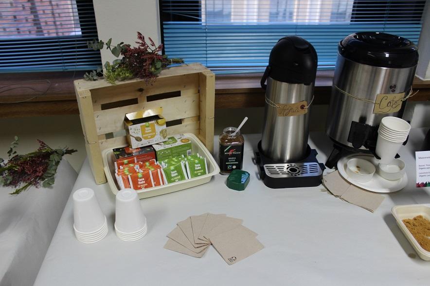 Coffe Break Sostenible - Verde Agua