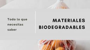 Portada Materiales Biodegradables - Verde Agua