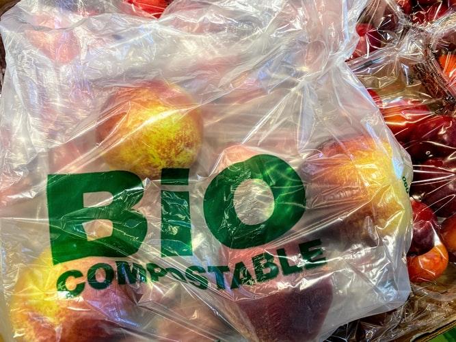Bolsa biodegradable y compostable