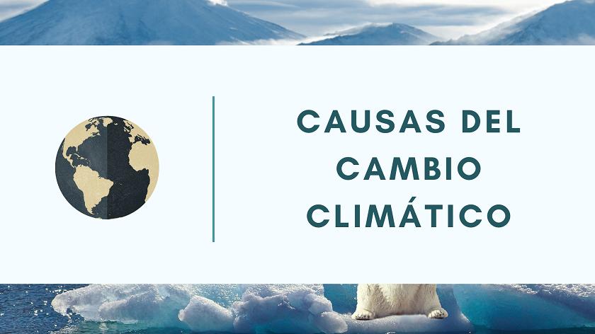 Causas del cambio climatico