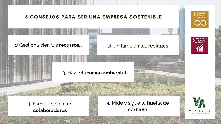 Infografia Empresa Sostenible