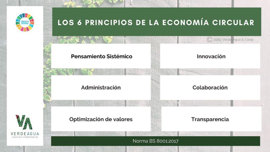 los 6 principios de la economia circular